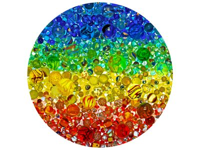 Illuminated Marbles 500 Piece Jigsaw Puzzle