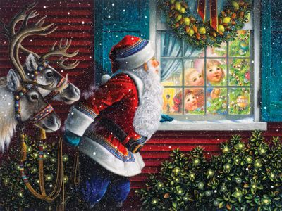 Gifts From Santa 500 Piece Jigsaw Puzzle
