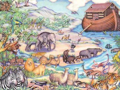 Noah's Ark 400 Piece Jigsaw Puzzle