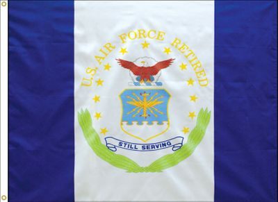Air Force Retirement Flag - 3' x 4' - Polyester