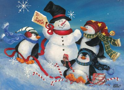 Penguins Playtime 120 Piece Jigsaw Puzzle