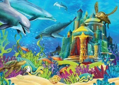 The Underwater Castle 150 Piece Jigsaw Puzzle