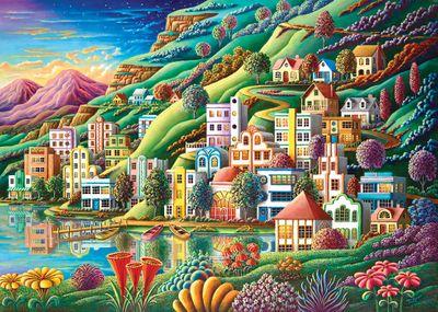 Hidden Harbor 1500 Piece Jigsaw Puzzle