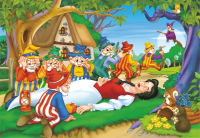 Snow White 160 Piece Jigsaw Puzzle
