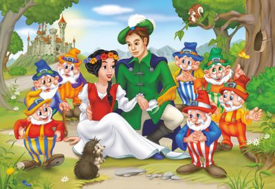 Snow White 60 Piece Jigsaw Puzzle