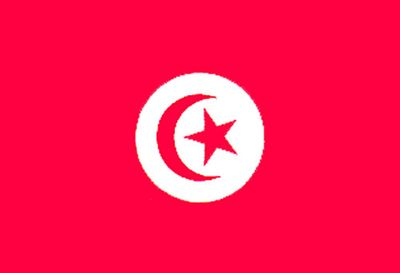 Tunisia World Flag