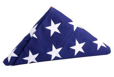 Official U.S. Interment Flag - 5' x 9.5'