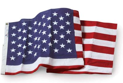 U.S. Flag - 5 x 8 Embroidered Nylon
