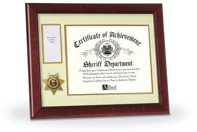 11X14 MAH SHERIFF AWARD FRAME