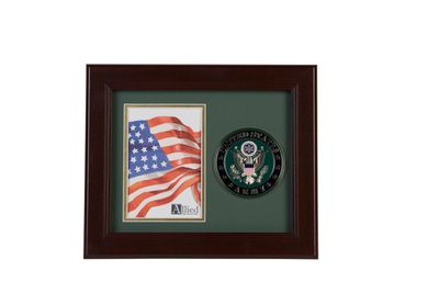 U.S. Army Medallion 4-Inch by 6-Inch Portrait Picture Frame