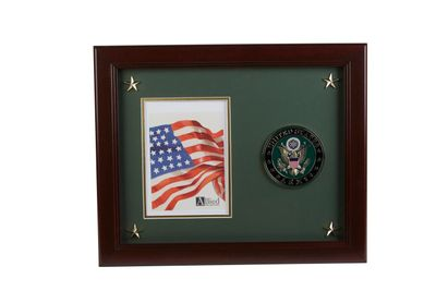 U.S. Army Medallion 5-Inch by 7-Inch Picture Frame with Stars