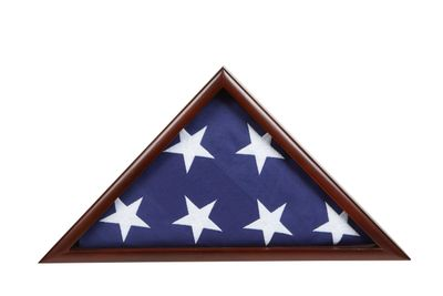 US Flag Display Case
