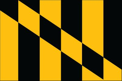 Lord Baltimore Flag - 3' x 5' - Nylon