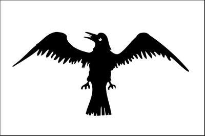 Raven Flag - 3' x 5' - Nylon