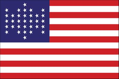 Union Civil War Flag - 3' x 5' - Nylon