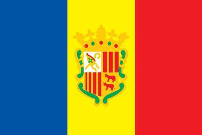 Andorra World Flag