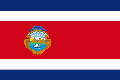 Costa Rica World Flag