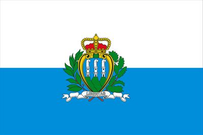 San Marino World Flag