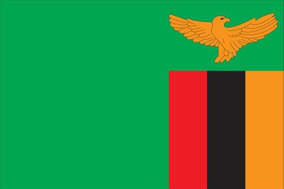 Zambia World Flag