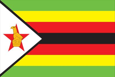 Zimbabwe World Flag