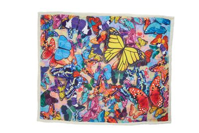*Out of Stock* Butterfly Frenzy Sherpa Blanket