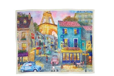 *Out of Stock* Eiffel Magic Sherpa Blanket