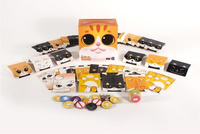 Cat Tower Family & Kids Board Game