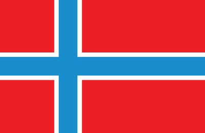 Norway World Flag