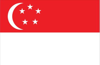 Singapore World Flag