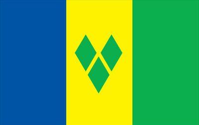 St Vincent And Grenadines World Flag