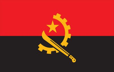 Angola World Flag