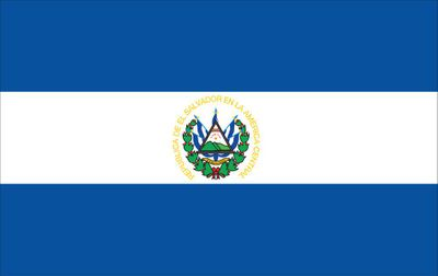 El Salvador World Flag