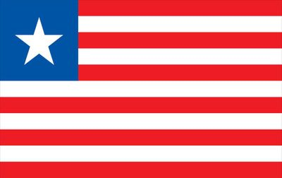 Liberia World Flag