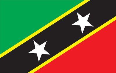 St Chris Nevis World Flag