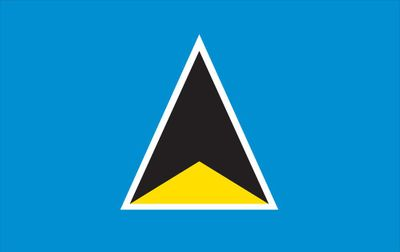 St Lucia World Flag