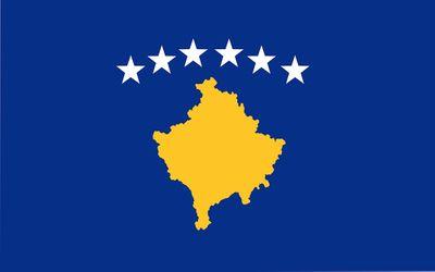 Kosovo World Flag