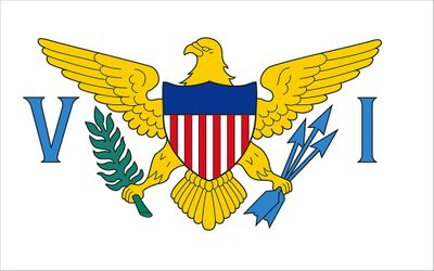 US Virgin Islands Flag - 3 x 5 - Nylon