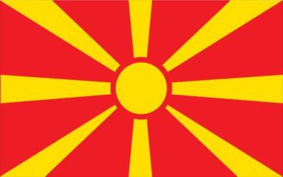 Macedonia World Flag