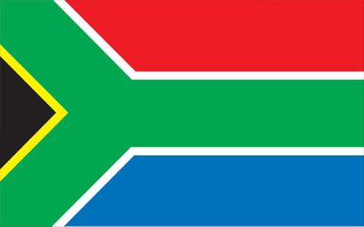 South Africa World Flag