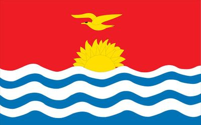 Kiribati World Flag