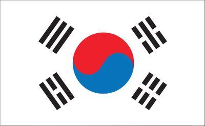 South Korea World Flag