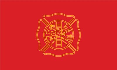 Firefighters Flag - 3' x 5' - Nylon