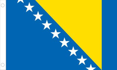 Bosnia-Herzegovina World Flag