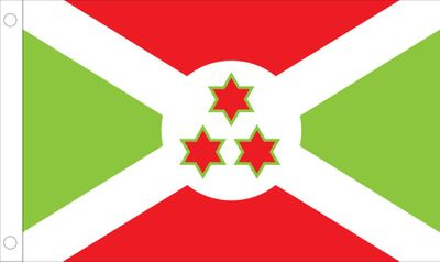Burundi World Flag