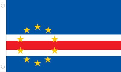 Cape Verde World Flag