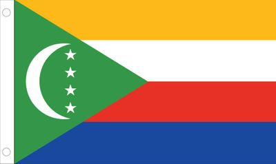 Comoros World Flag