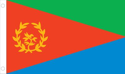 Eritrea World Flag