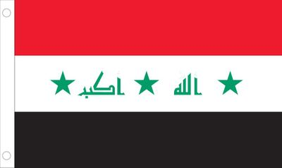 Iraq World Flag