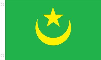 Mauritania World Flag