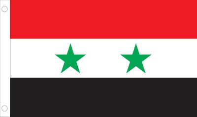 Syria World Flag